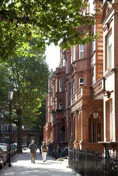 London apartment in Chelsea...or Kensington...or Hyde Park (I love Hyde Park and Kensington Gardens)