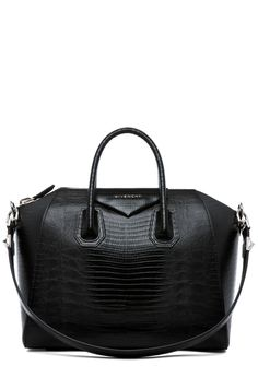 GIVENCHY Antigona Medium Stamped Tejus in Black