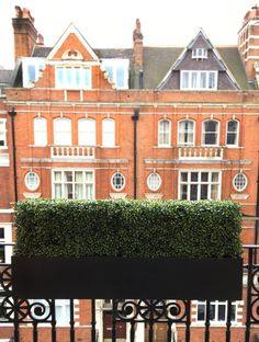 Artificial Boxwood Hedge Window Box planter by artificialgreen.co.uk