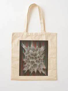 """The Life Fraction No.01"" Cotton Tote Bag, print design by Asmo Turunen. #design #totebag #shoppingbag #kestokassi #kangaskassi #atcreativevisuals"