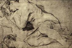 Studies_of_a_Woman_Sleeping_-_Sir_Anthony_van_Dyck.png 1,536×1,024 pixels
