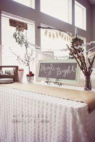 My Fabuless Life: Christmas Party Table: Ideas, Tips & Tricks