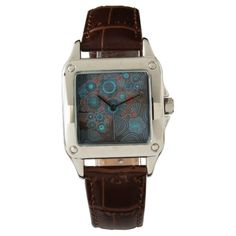 Steampunk Magnetic Core Perfect Square Watch * UBM