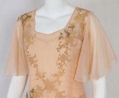 1930s Clothing at Vintage Textile: #2820 tea dress
