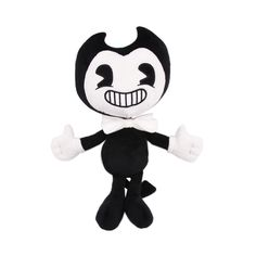 Large Size Bendy and the ink machine Bendy and Boris Plush Doll Figure Toys - Kid Shop Global - Kids & Baby Shop Online - baby & kids clothing, toys for baby & kid Toddler Toys, Baby Toys, Kids Toys, Bendy And The Ink Machine, Plush Dolls, Doll Toys, Baby Shop Online, Plushies, Norman