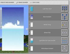 Minecraft Banner design - Minecraft World Minecraft Mods, Minecraft Building Guide, Minecraft Plans, Minecraft Tutorial, Minecraft Blueprints, Minecraft Stuff, Minecraft Interior Design, Minecraft House Designs, Minecraft Architecture