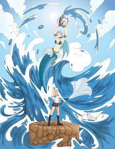 lucy_and_aquarius_fan_art_by_arlequindepiedra.jpg (2717×3543)