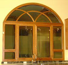 ventanas para arcos Arco de aluminio de la puerta interior arco