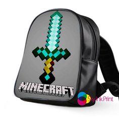 Minecraft Special School Bag