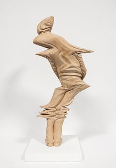 Juxtapoz Magazine - New Warped Wood Sculptures by Paul Kaptein