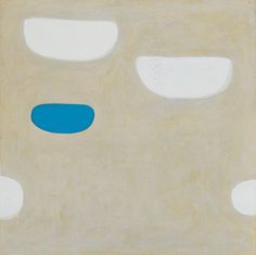 William Scott, Etruscan Memory No. 2, 1972, Oil on canvas, 101.5 × 101.5 cm / 40 × 40 in, Private collection
