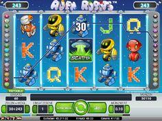 Alien Robots Spielautomat kostenlos - Wir schicken dich auf Abenteuerreise ins Weltall mit Netent und dem Spielautomaten Alien Robots.