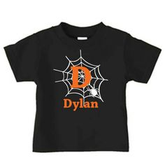 Kaden's Halloween shirt