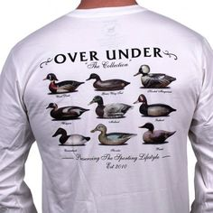 The Collection Long Sleeve Tee in White by Over Under Clothing dixiepickersstore.com