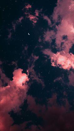 Tumblr Wallpaper, Wallpaper Pastel, Wallpaper Rose, Natur Wallpaper, Night Sky Wallpaper, Iphone Wallpaper Images, Cloud Wallpaper, Iphone Wallpaper Tumblr Aesthetic, Homescreen Wallpaper