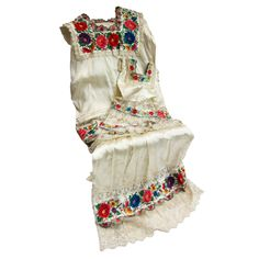 Antique and Vintage Quilts and Blankets - For Sale at Traditional Mexican Dress, Traditional Dresses, Mexican Dresses, Vintage Quilts, Embroidered Flowers, Dance Costumes, What I Wore, Dress Making, Daughter