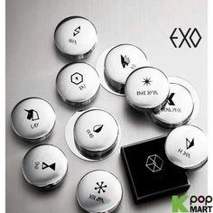 EXO merchandise: I want the Chanyeol and Kai ones ;-;