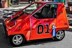 This picture of a much smaller version of the General Lee comes from Wilder PhotoArt on Flickr.   If you have a shot to share, please add it to the Motoramic group on Flickr, https://www.flickr.com/groups/motoramic/  #DukesOfHazzard #Flickr