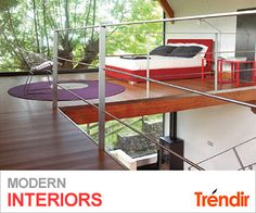 Modern Interiors on Trendir