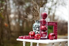 Thinking of having a wedding in autumn perfect time to incorporate farmhouse apple home decor ideas to add fall charm junglespirit Image collections