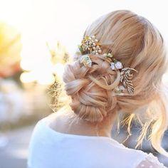 Beautiful Bridal Bun - Hairstyles How To