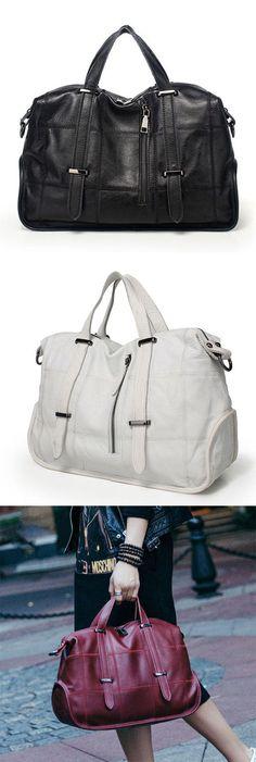 63a95b447196 Women Genuine Leather Vintage Handbag