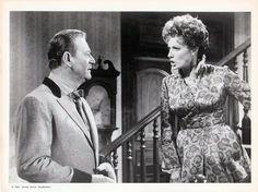 John Wayne with Maureen O'Hare in McLintock