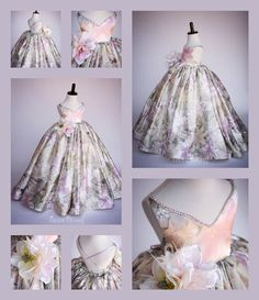 "Anna Triant Couture | Products | Flower Girl Dress | ""Spring Lilly"" Dress - Spring/Summer 2016"
