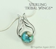 Hey, I found this really awesome Etsy listing at http://www.etsy.com/listing/176687802/sterling-tribal-wings-cremation-jewelry