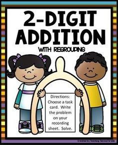 2-Digit AdditionThanksgiving Math StationDirections: Choose a task card. Choose a task card. Write the problem on your recording sheet. Solve.*This center comes with a recording sheet.