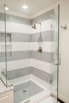 outstanding 48 Charming Bathroom Shower Tile Ideas #masterbathrooms