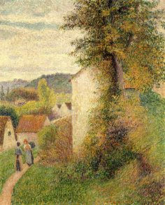 Camille Pissarro (French), The Path (1889) | Detroit Institute of Arts