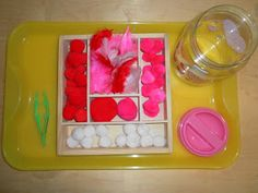 Rockabye Butterfly: Valentine's - Sensory and Tot Trays!
