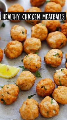 Meat Recipes, Dinner Recipes, Cooking Recipes, Healthy Recipes, Easy Delicious Recipes, Yummy Food, Ground Chicken Meatballs, Ground Chicken Meatloaf, Chicken Meatball Recipes