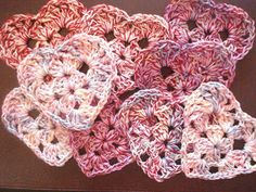 Tolentreasures: Crochet Heart Tutorial