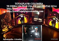 TOTALPLAY® COLOMBIA Te desea un Feliz día de las Velitas y Faroles en Unión de Tu familia .Barranquilla Colombia
