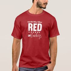 Where RED on Friday, it's a Military Thing, it's a movement to Remember Everyone Deployed.    It's not specific to the Marines, Army, Navy, Air Force, but all Armed Forces. Wear red and get people talking about those who are serving and those who have served.