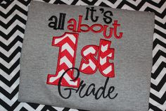 All about 1st grade school teacher shirt first by stephstowell