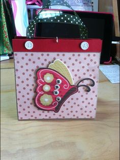 Homemade gift bag! By: Anne Krise
