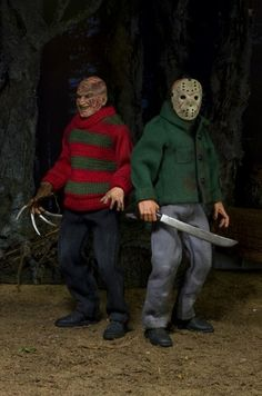 Freddy and Jason get retro with these bloody action figures | Moviepilot: New Stories for Upcoming Movies