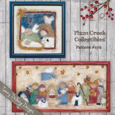 Nativity Christmas Embroidery Pattern #172