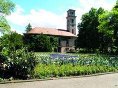 Fürth - Stadtpark mit Kirche