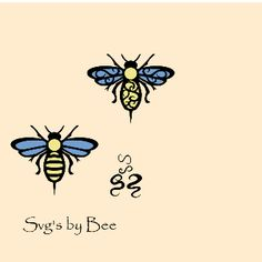 I like the one with the flourishes Learn To Sketch, Bee Photo, Vintage Bee, Bee Happy, Flourishes, Crafty Craft, Queen Bees, Digital Illustration, Silhouette Cameo