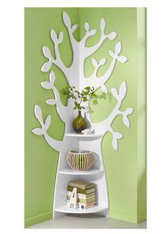 """Eckregal """"Tree"""" grün - bpc living bonprix collection - bonprix.de ähnliche tolle Projekte und Ideen wie im Bild vorgestellt findest du auch in unserem Magazin . Wir freuen uns auf deinen Besuch. Liebe Grü�"""