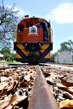 The Apple Train running from Port Elizabeth to Loerie and back in South Africa.