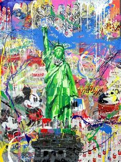 Liberty par Mr. Brainwash - 2016