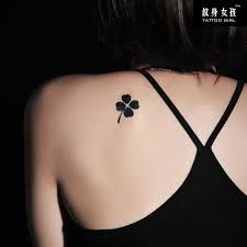 tattoos of 4 leaf clovers - Google Search