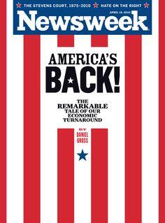 """Newsweek: """"America's Back!"""" (1975)"""