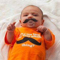 The Mustachifier. Baby approved...
