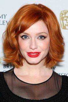 Top 100 Short Hairstyles for Women  #shorthairstyles #celebrityhairstyles #christinahendricks